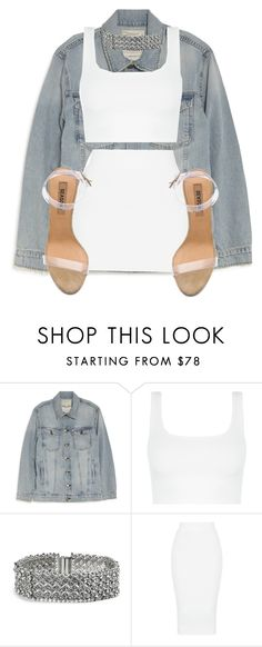"""""""Untitled #1056"""" by nicole-matos ❤ liked on Polyvore featuring Current/Elliott, GUESS and YEEZY Season 2"""