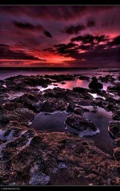 Sunrise - Brisbane, Queensland, Australia by antonia