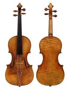 """Violin by Giuseppe Guarneri Del Gesu known as the """"Wieniawski"""""""