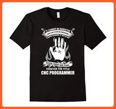 Mens CNC Programmer shirt Small Black - Careers professions shirts (*Partner-Link)