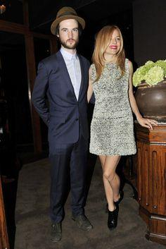 Tom Sturridge and Sienna Miller [Photo by Donato Sardella]