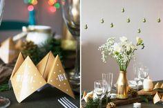 Christmas table de Noel - Navidad