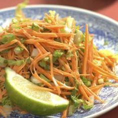 Sweet Potato & Cabbage Slaw Recipe