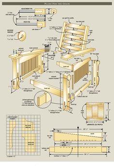 morris-chair-plans-free-7.jpg (492×715)