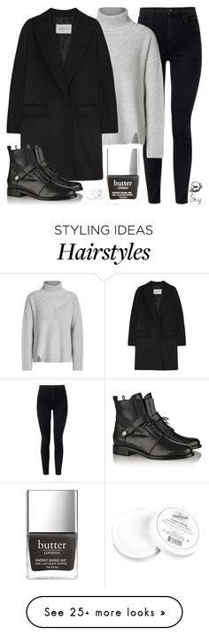 """Briefly"" by skyl19 on Polyvore featuring J Brand, Oui, MaxMara, Fendi and Mehron"