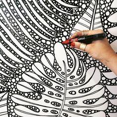 my work and i painting a mural and wallpainting Artist Lena Petersen www.lenapetersen.de