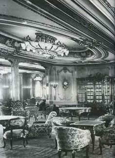 Titanic's 1st Class Library
