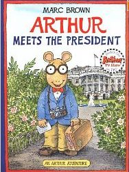 Free online video version of the book, Arthur Meets the President and activity for the book. Could use it for election day, or save it for Presidents' Day!