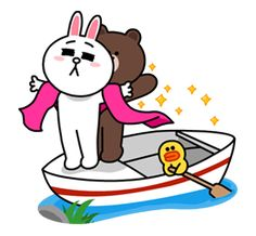 Brown & Cony's Lovey Dovey Date