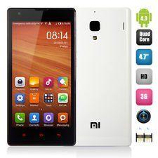 Xiaomi Hongmi 1S WCDMA 3G Snapdragon 400 Quad Core 1G RAM 8G ROM (blanco)