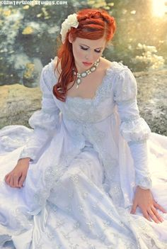 Medieval princess gown/wedding dress
