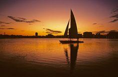 Enjoy sailing on Lake Calhoun in Minneapolis #OnlyinMN