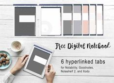 Transforms your iPad into digital paper. It's a single place for all your handwritten notes. Journal Template, Notes Template, Templates, Free Planner, Printable Planner, Planner Stickers, Good Notes, Notes Free, Free Notebook