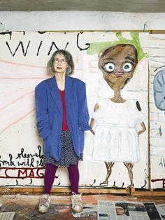 #ARTIST Rose Wylie