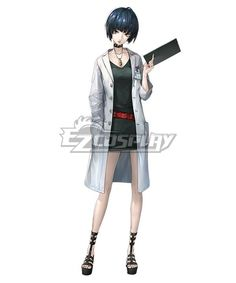 f this character.  Email address: Pls email us if you need the costume, wig, shoes, weapon or other accessories oEzcosplay@gmail.com Persona 5 Tae Takemi Cosplay Costume(Not Necklace and Brand) - EPR016