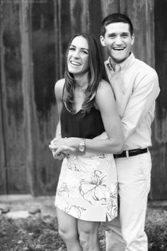 Rochester, NY Summer Engagement Portrait Session in Pittsford