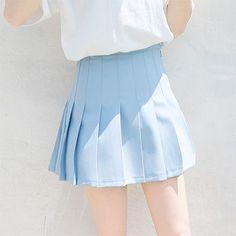 Imagem de blue, skirt, and pastel Light Blue Aesthetic, Aesthetic Girl, Aesthetic Outfit, Everything Is Blue, Sailor Mercury, Himmelblau, Color Azul, Kingdom Hearts, Powerpuff Girls