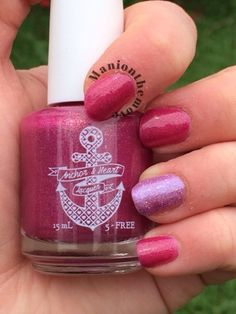 Anchor & Heart Lacquer The Vivacious & Turtle Tootsie Polishes QueenOfThe House