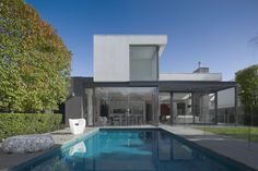 pool of Contemporary House with Classic Victorian Character | Home ...