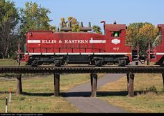 RailPictures.Net Photo: EE 7 Ellis & Eastern EMD SW1200 at Sioux Falls, South Dakota by Tim Lyford