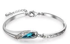 Pauline & Morgen Cenicienta Pulsera para Mujer fabricada con cristales SWAROVSKI | Joyería online, joyas de Plata y Oro.