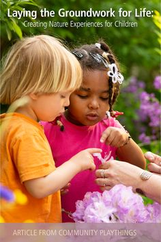 A thoughtful, informative piece by an ECE educator, about the benefits of nature experiences for child development, and the educator's role in creating those experiences for children. Tap through to read.