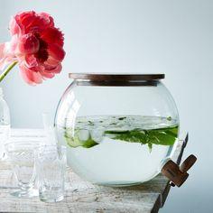 Handblown Glass Drink Dispenser: Remodelista