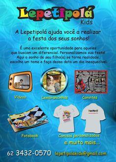 Folder elaborado para a empresa Lepetipolá.