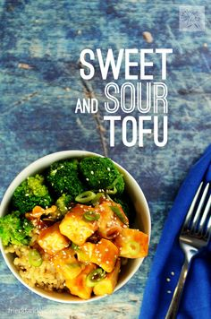Sweet and Sour Tofu has all of the yumminess of take out, with ingredients you control! {vegan // nut free} via @frieddandelions