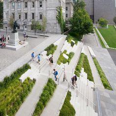 Amphitheater Architecture, Public Architecture, Stairs Architecture, Landscape Architecture Design, Concept Architecture, Landscape Plaza, Landscape Stairs, Urban Landscape, Design Plaza