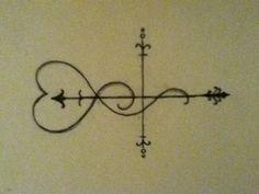 "Tattoo design I drew today. ""follow your heart"""