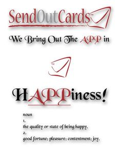We even have a cool phone app that you can send cards from on the go.