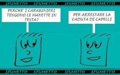 Indovinello sui carabinieri. Www.sfumetto.net