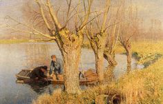 Emile Claus    Bringing in the Nets