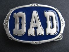 DAD PAPA FATHER DAY BIRTHDAY MEN BOY COOL BELT BUCKLE