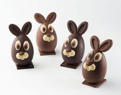 Chocolate Work, Chocolate Coins, Easter Chocolate, Chocolate Gifts, Easter Cupcakes, Easter Cookies, Easter Treats, Chocolates, Chocolate Showpiece