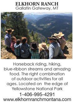 Elkhorn Ranch: Dude Ranch in Montana Near Yellowstone Yellowstone National Park, National Parks, Reunions, Horseback Riding, Outdoor Activities, Montana, Trip Advisor, Ranch, How To Memorize Things