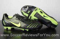 4ebf412cdce89 Nike Total 90 Laser II Synthetic Video Review