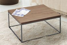 Konferenční stolek Natanel je určený pro milovníky designu, který zaujme Vaši pozornost. Vyrobený je z foliované MDF v kombinaci s chromem. Navíc barevné provedení dub sonomo neztratí své koulo. Table, Furniture, Design, Home Decor, Decoration Home, Room Decor, Tables, Home Furnishings