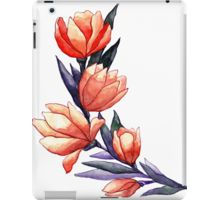#watercolor #spring #flower #flowers #tulip #tulips #wreath #redbubble #red #violett #peach #gentle #beauty #beautiful #summer #plant #botanical #art #redbubble #ipad #ipadcase #case #iphone #iphonecase #design #purple #leaves #leaf #cute #paint #painting #bright