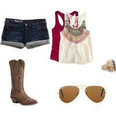 Cute Summer, created by themarvelousginger on Polyvore