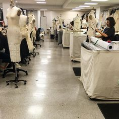 The #Atelier is in full collection force!! #fashion week coming soon!! #proccess #madeinnyc Teamwork!