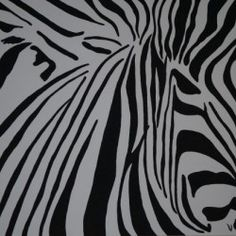 zebra - Babetts Bildergalerie - The picture was painted into acryl on canvas. Brushed Metal, Floating Frame, Hanging Wire, Stretched Canvas Prints, Canvas Artwork, Wood Print, Animal Print Rug, Drawing Pictures, Print To Canvas