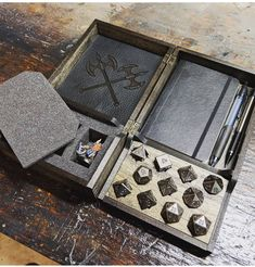 Woodworking Plans Videos - Woodworking Furniture Storage Boxes - - Vintage Woodworking Bench - - Woodworking Projects For Kids Dungeons And Dragons Memes, Dungeons And Dragons Homebrew, Tabletop Rpg, Tabletop Games, Dnd Table, Dice Tower, Dice Box, 3d Prints, Pen And Paper