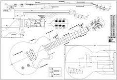 Les Paul, SG, Double Cut Special PDF. Guitar Templates