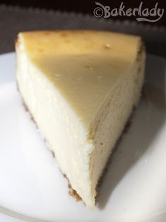 America's Test Kitchen New York Cheesecake - Bakerlady. I used a vanilla wafer crust and a sour cream and sugar top but otherwise followed the recipe. This is an excellent cheesecake. Possibly the best I've had