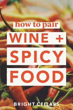 Do you love to turn up the heat? Wine and spicy foods make the BEST wine pairing! The wine will help complement the spicy food without taking away from the overall flavor. Click to get all the wine and spicy food pairings! Bright Cellars is the monthly wine subscription that matches wines to your palate based on a 7 question quiz. Jamaican Dishes, Spicy Dishes, Low Alcohol Wine, Bright Cellars, Fruity Red Wine, Chicken Vindaloo, Sour Soup, Wine Subscription, Wine Guide