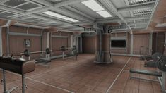 Central atrium, luxurious rooms offered by More Vault Rooms mod and many other features.