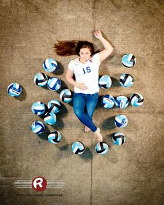 This is such a feminine pose for a sports shot.  It's great to show off more than one side of a client during An athletic shoot! #volleyball #fayetteville #outdoorportraits #ncportraits #northcarolina #photography #photographer #ncseniorportraits #bestphotographer #fayettevillephotography #affordablephotography
