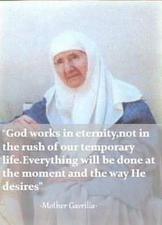 """The book """"Mother Gavrilia the Ascetic of Love """" says it all. Catholic Beliefs, Catholic Saints, Christianity, Strong Faith, Faith Hope Love, Religious Quotes, Religious Art, Inspirational Qoutes, Motivational"""